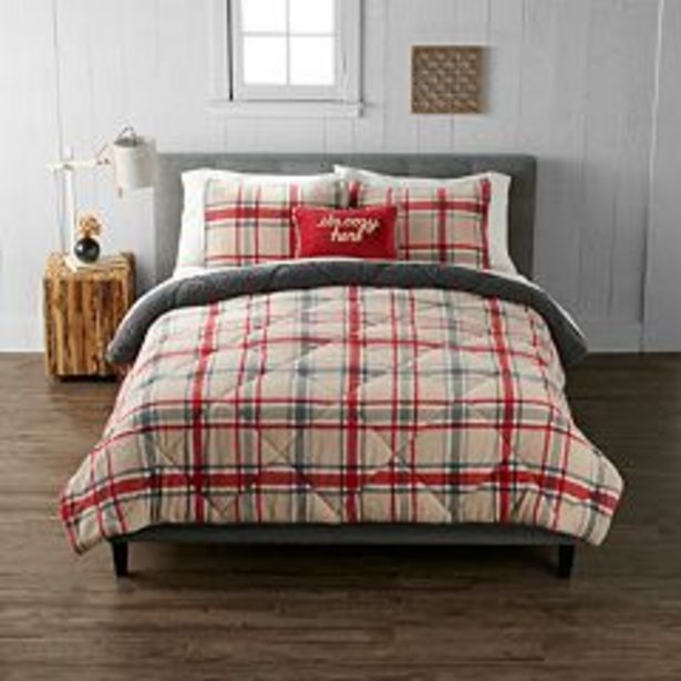 Cuddl Duds® Plaid Comforter Set with Shams deals at $114.99