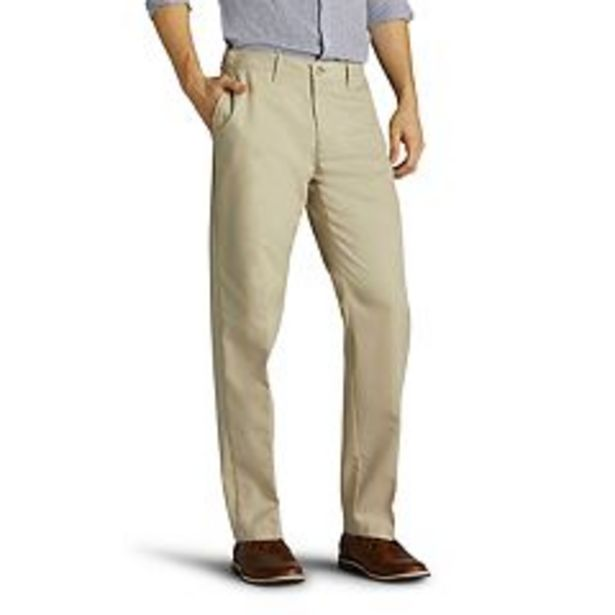 Men's Lee® Total Freedom Relaxed-Fit Stain Resistant Pants deals at $24.99