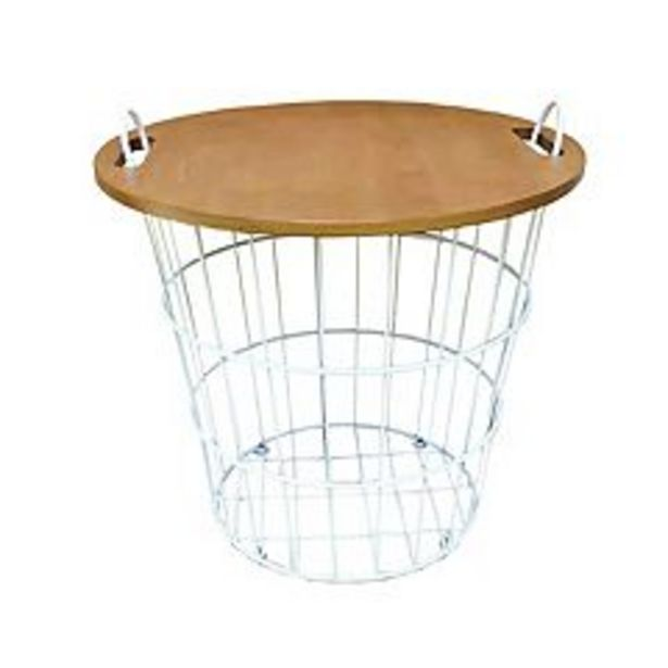 Sonoma Goods For Life® Wire Basket Side Table deals at $46.79