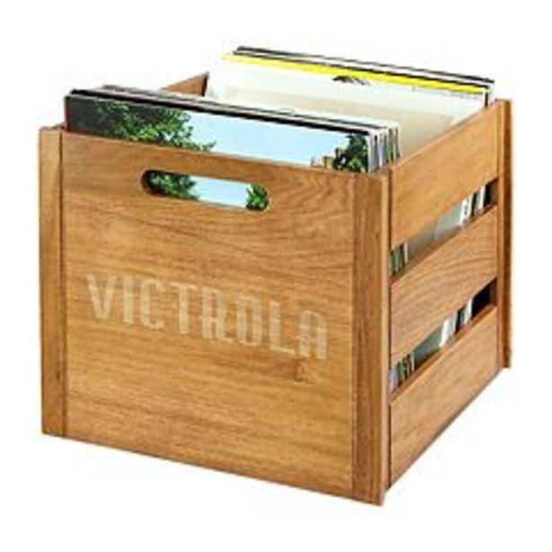 Victrola Wooden Record Crate deals at $49.99