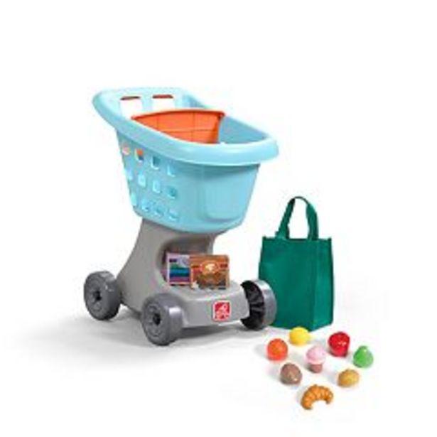Step2 Little Helper's Toy Shopping Cart & Play Food Set deals at $29.99