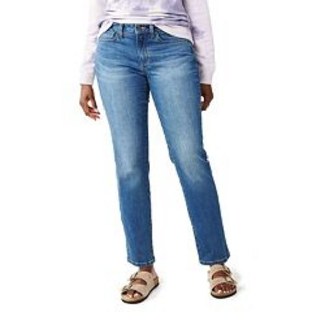 Women's Sonoma Goods For Life® Straight-Leg High-Waisted Curvy Jeans deals at $14.99