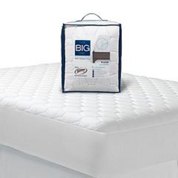 The Big One® Waterproof Mattress Pad deals at $16.99