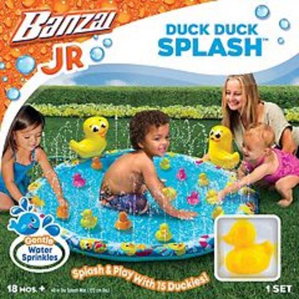 Boys Girls Banzai Jr. Duck Duck Splash Pad deals at $6.74