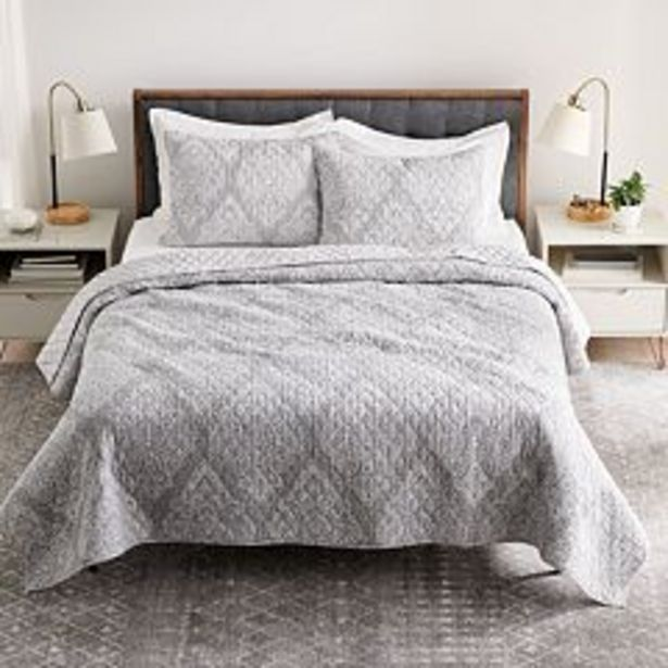 Sonoma Goods For Life® Heritage Sarah Reversible Cotton Quilt or Sham deals at $14.99
