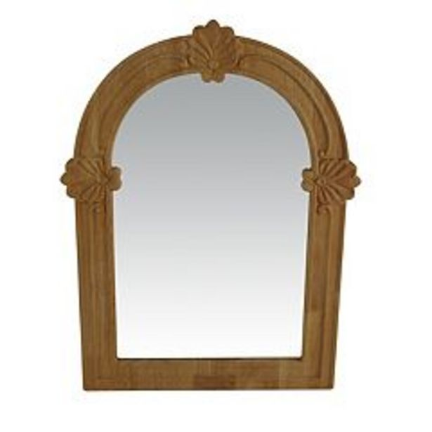 Sonoma Goods For Life® Wood Carved Mirror deals at $34.99