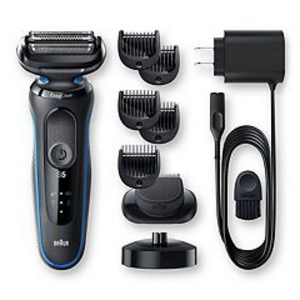 Braun Series 5 5049cs Easy Clean Electric Razor for Men with Charging Stand deals at $89.99