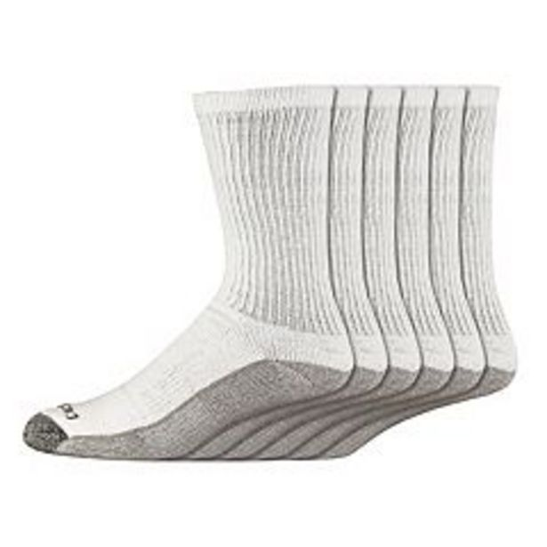 Men's Dickies 6-pack Dri-Tech Comfort Moisture-Control Crew Socks deals at $18