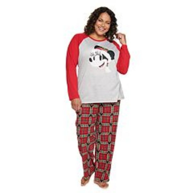 Disney's Minnie Mouse Plus Size Mickey Family Pajama Set by Jammies For Your Families® deals at $35