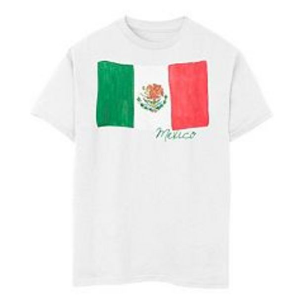 Boys 8-20 Mexico Watercolor Painted Flag Tee deals at $21.99
