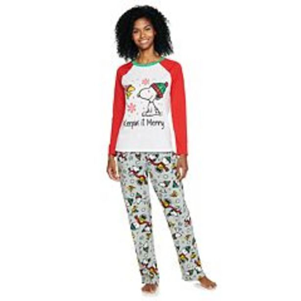 Women's Jammies For Your Families® Peanuts Pajama Set deals at $32.2