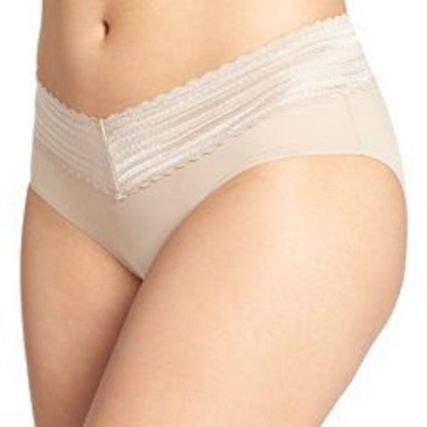 Women's Warner's No Pinching No Problems Lace Trimmed Hipster Panty 5609J deals at $10