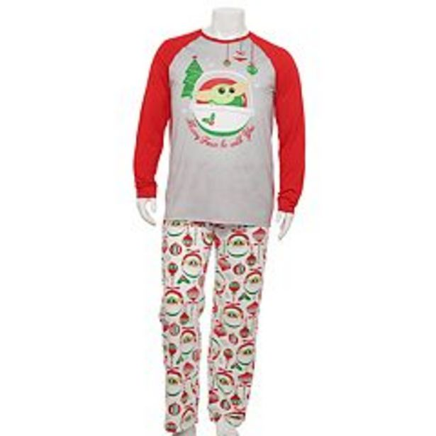 Big & Tall Jammies For Your Families® Star Wars The Mandalorian The Child aka Baby Yoda Pajama Set deals at $37.8