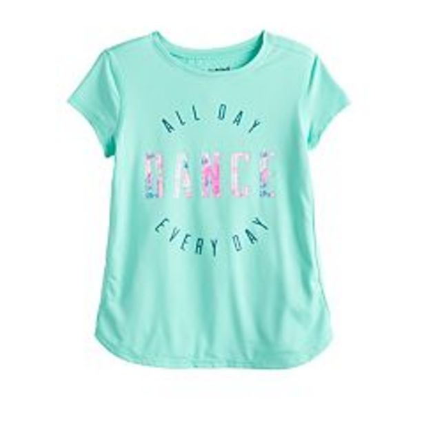 Girls 4-12 Jumping Beans® Graphic Active Tee deals at $2.25