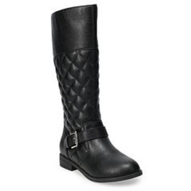 SO® Auroraa Girls' Quilted Riding Boots deals at $34.99