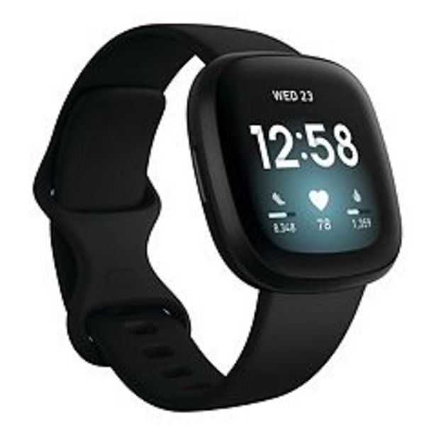 Fitbit Versa 3 Health and Fitness Smartwatch deals at $229.99