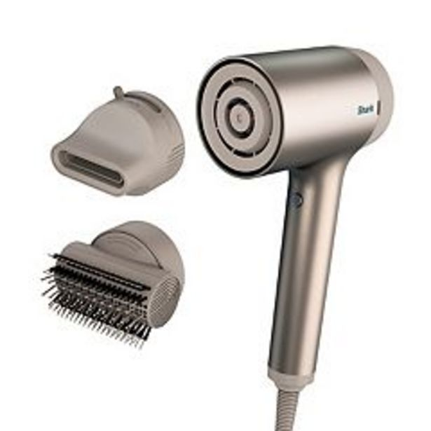 Shark HyperAIR Ionic Hair Dryer with IQ 2-in-1 Concentrator & Styling Brush Attachments (HD112) deals at $199.99