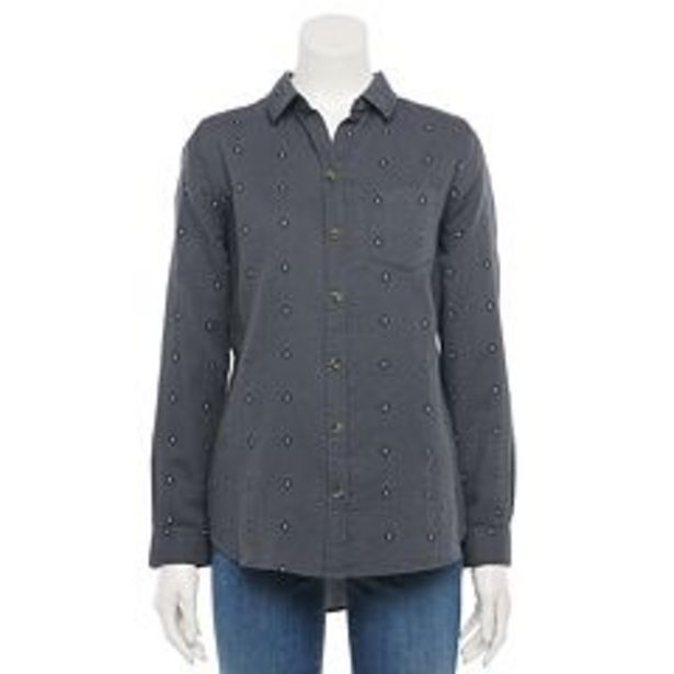 Women's Sonoma Goods For Life® Essential Button-Down Shirt deals at $5.4