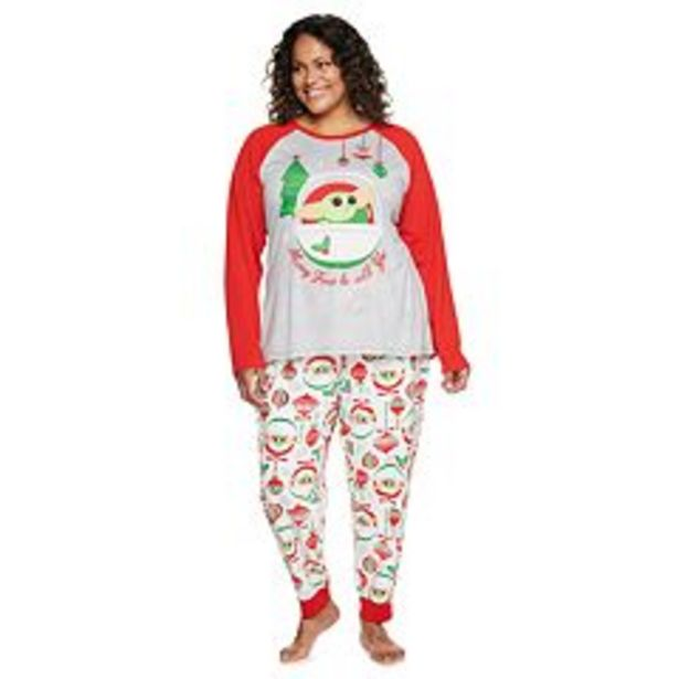 Plus Size Jammies For Your Families® Star Wars The Mandalorian The Child aka Baby Yoda Pajama Set deals at $37.5