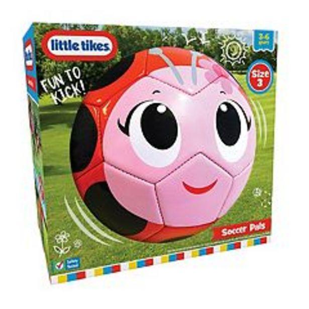 Little Tikes Soccer Pals Ladybug Soccer Ball deals at $5.99
