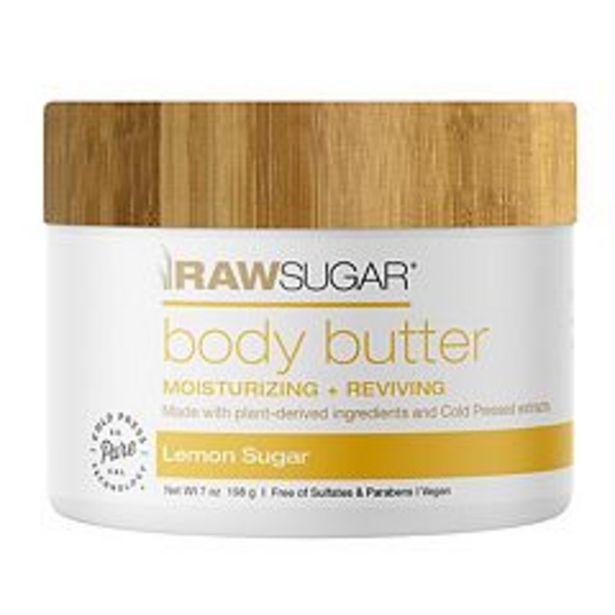 Raw Sugar Living Body Butter - Lemon Sugar deals at $11.99