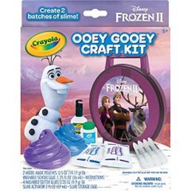 Disney's Frozen 2 Gooey Fun Art Set by Crayola deals at $3.74