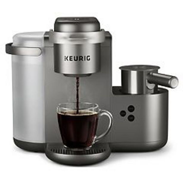 Keurig® K-Cafe® Single-Serve K-Cup Pod® Coffee, Latte & Cappuccino Maker deals at $199.99