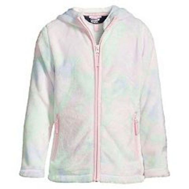 Girls 7-16 Lands' End Softest Fleece Hooded Jacket deals at $29.97