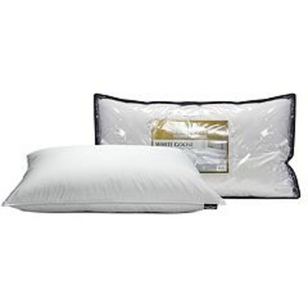 Hotel Suite White Goose Down Soft Pillow deals at $39.99