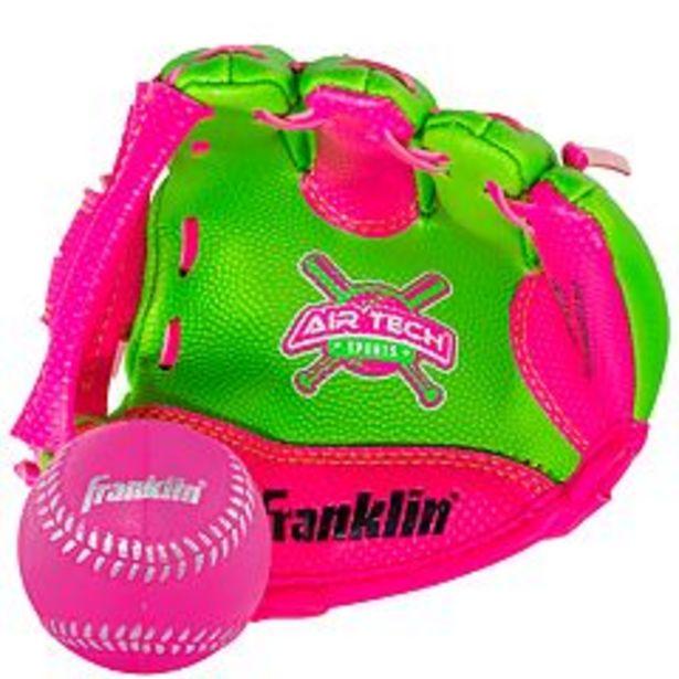 """Franklin Sports 8.5"""" Air Tech Adapt Baseball Glove & Ball Set deals at $5.84"""
