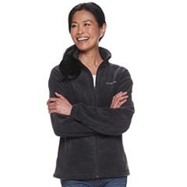 Women's Columbia Benton Springs Zip-Front Fleece Jacket deals at $39.99