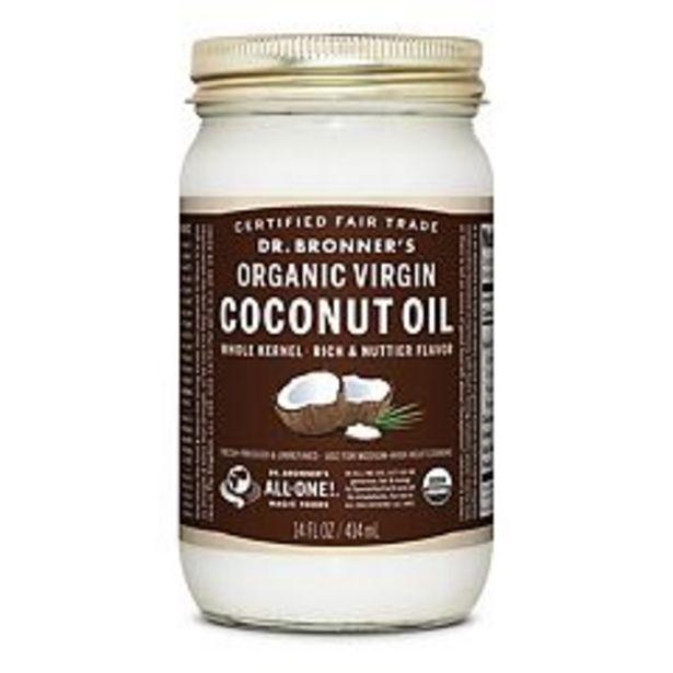 Dr. Bronner's Organic Virgin Coconut Oil - 14 oz deals at $11.99