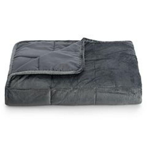 Altavida 12-lb. Ultra Plush Faux Mink Weighted Blanket deals at $39.99