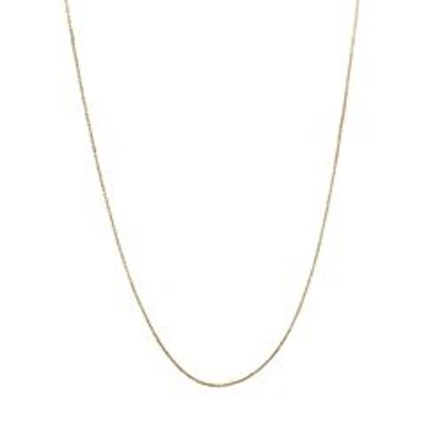 Everlasting Gold 14k Gold Box Chain Necklace deals at $250