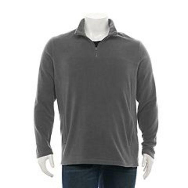 Big & Tall Croft & Barrow® Arctic Fleece Quarter-Zip Pullover deals at $24.99
