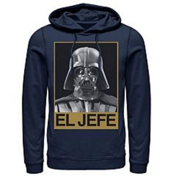 Men's Star Wars Darth Vader El Jefe Portrait Hoodie deals at $59.99