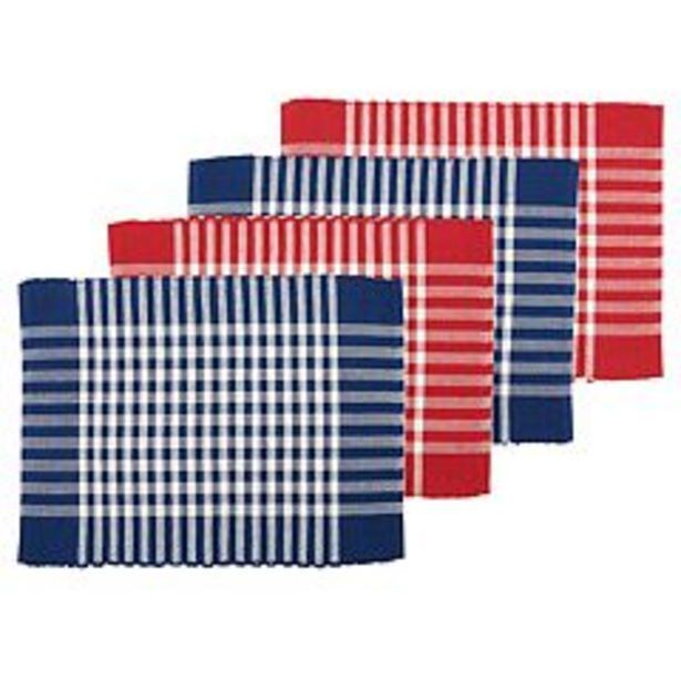 Celebrate Americana Together 4-pc. Placemat Set deals at $8.74