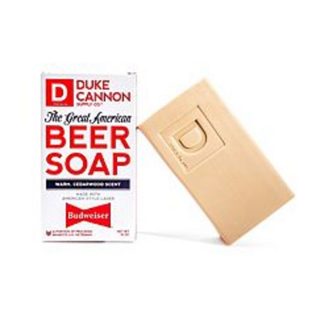 Duke Cannon Supply Co. Great American Beer Soap - Budweiser deals at $7.99