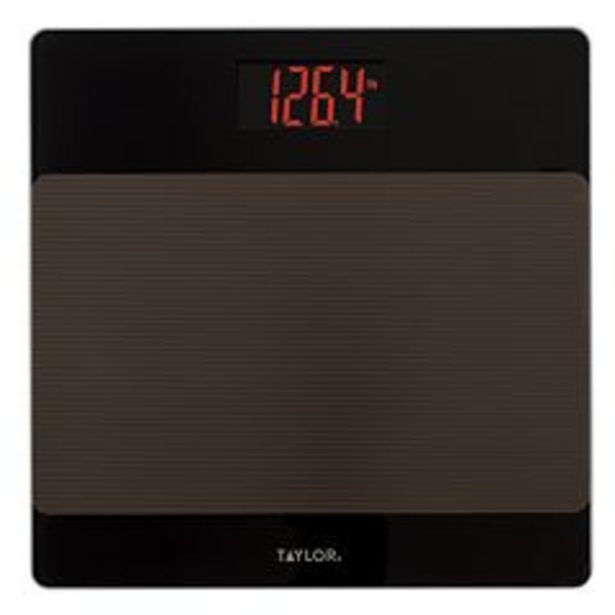 Taylor LED Bath Scale with Sure Foot Surface deals at $44.99