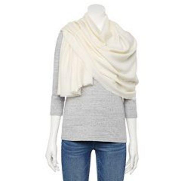 Women's LC Lauren Conrad Solid Oversized Wrap Scarf deals at $19.2