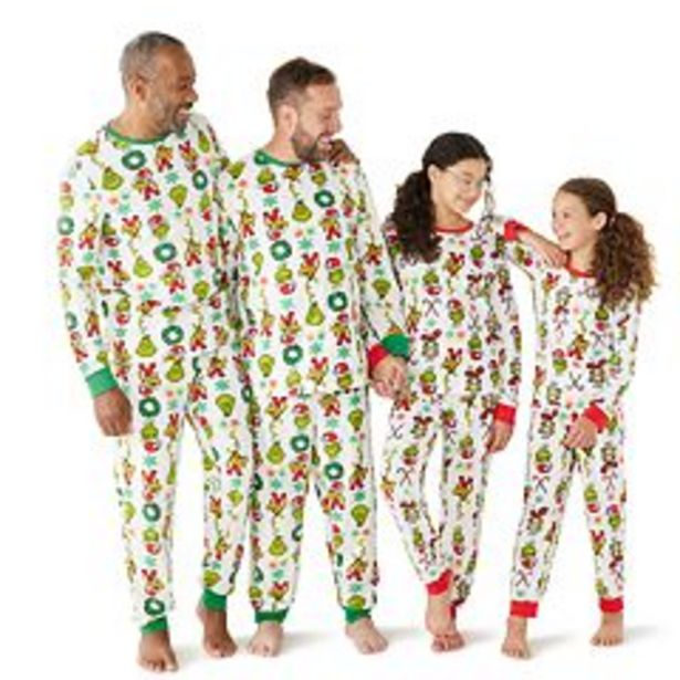 Jammies For Your Families® The Grinch Pajama Collection deals at $18