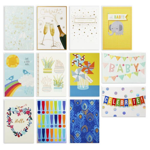 Big Celebrations Assorted Cards, Box of 12 deals at $12.99