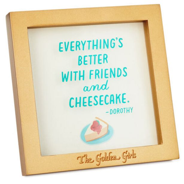 The Golden Girls Friends and Cheesecake Framed … deals at $19.99