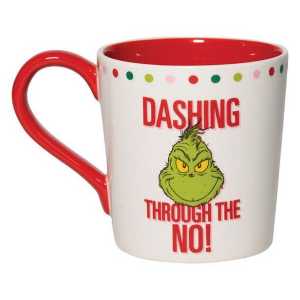 Dr. Seuss Grinch Dashing Through the No Mug, 16… deals at $19.99
