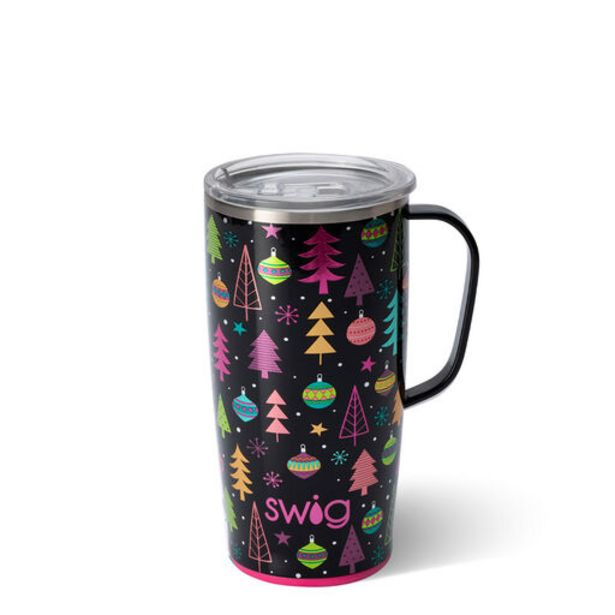 Swig Merry & Bright Stainless Steel Travel Mug,… deals at $36.99