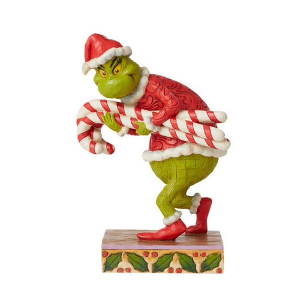 Jim Shore Grinch Stealing Candy Canes Figurine,… deals at $69.99