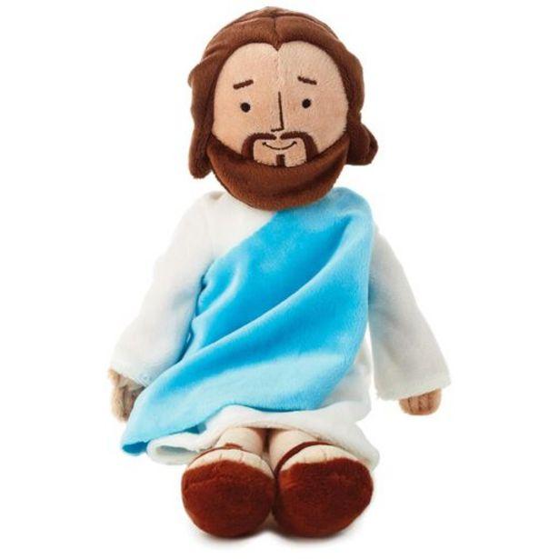"""My Friend Jesus Stuffed Doll, 13"""" deals at $14.95"""