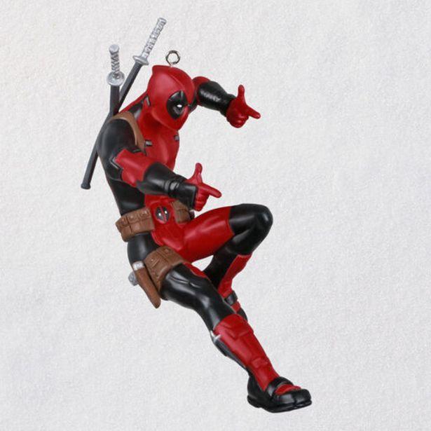 Marvel Deadpool Ornament deals at $17.99