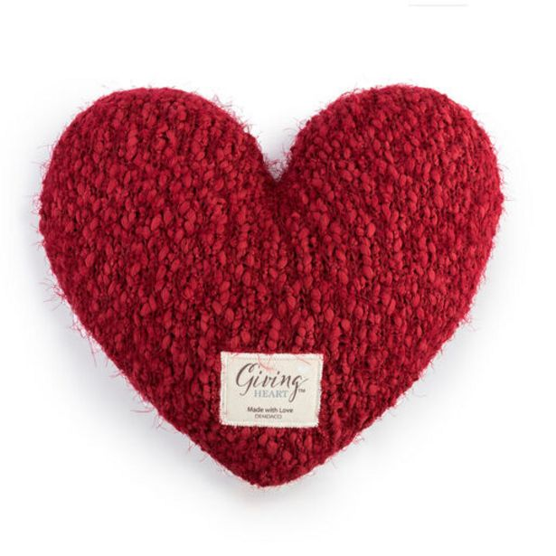 Demdaco Red Giving Heart Pillow deals at $34.99