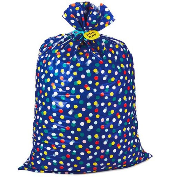"""56"""" Giant Hooray Plastic Gift Bag With Tag and … deals at $5.49"""